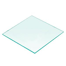 10 In. X 10 In. Square Tempered Glass