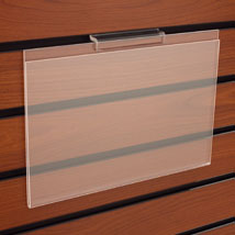 14 In. W X 11 In. H Acrylic Sign Holder