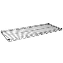Extra Shelf Set For Wire Shelving Rack - 48 X 18