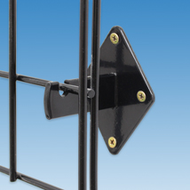 Wall Brackets For Slatgrid And Grid Panels