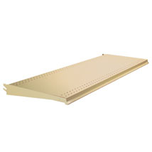 Sahara Almond Gondola End Cap Shelf - 36 in x 16 in