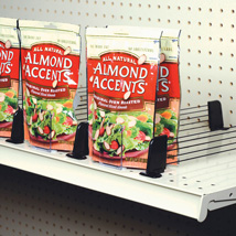 Adjustable Gondola Shelf Divider