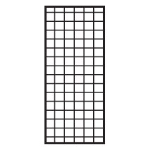 Black Heavy Duty Gridwall Panel - 60 In. High