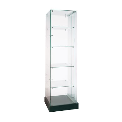 20 in. Wide x 72 in. High Glass Tower Display