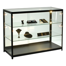 Fully-Assembled Lighted Display Case - 47 1/4 In. Wide