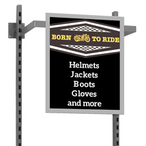 Di Simo Hangrail Sign Holder - 22 In. W X 28 In. H