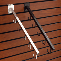 5 J-Hook Square Waterfall For Slatwall