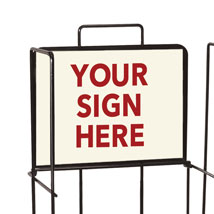 Adhesive Custom Sign - 12 In. W X 9 In. H