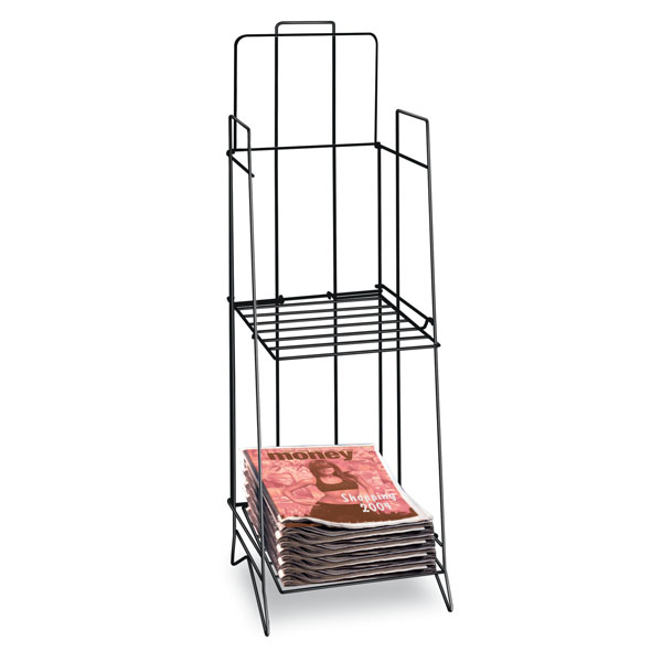 Tabloid Newspaper Display Rack