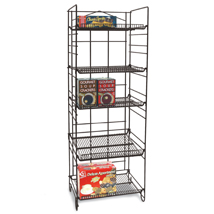 5 Adjustable Shelves Wire Bakery Rack