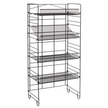 4 Shelf Heavy Duty Adjustable Shelving Rack