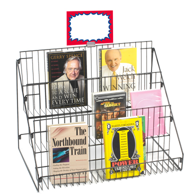 3 Tier Wire Multipurpose Counter Display Rack