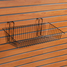 Slatwall Basket 24 In. W X 12 In. D
