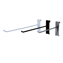 6 in. Black Peg Hook for Grid