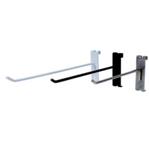 Black Peg Hook For Grid - 10 In. Long
