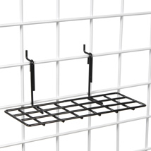 Straight Grid Shelf - 4 In. W X 10 In. L