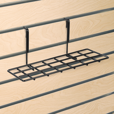 Slatwall Shelf 4 In. W X 10 In. L