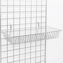 Chrome 24 X12 X4 Grid Basket