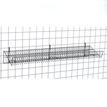 Slanted Grid Shelf - 12 In. W X 48 In. L