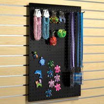 Metal Pegboard Panel For Magnet And Peg Hooks - Slatwall