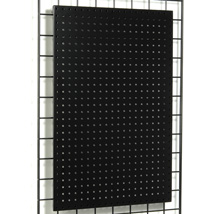 Metal Pegboard Panel for Magnets and Peg Hooks for Grid