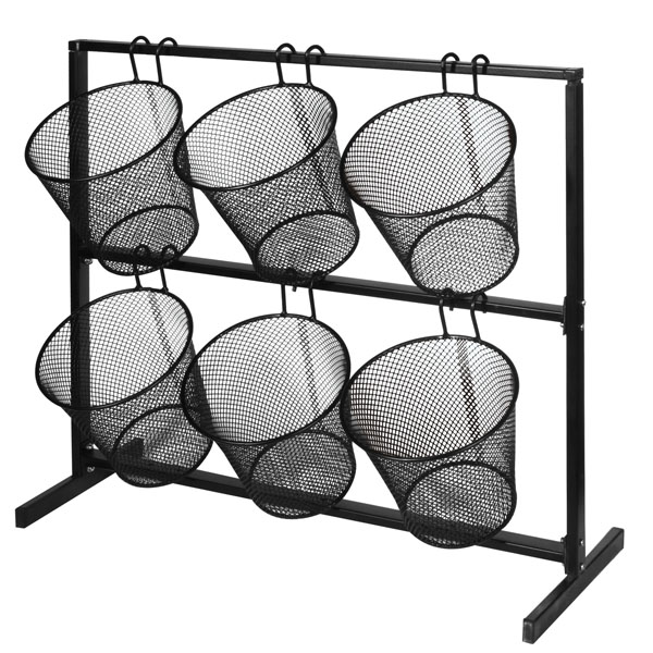 Retail Counter Displays Mesh Basket Counter Display
