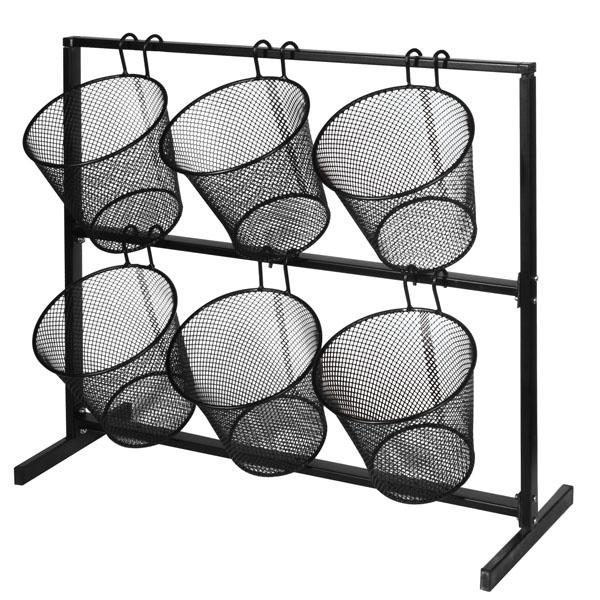 Retail Counter Displays Mesh Basket Counter Display