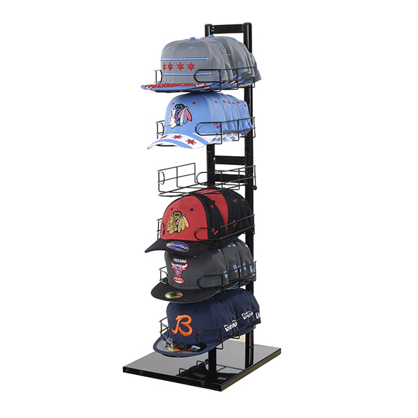 6 Tier Countertop Cap Display