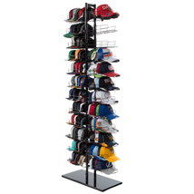 12 Tier Double Sided Cap Display