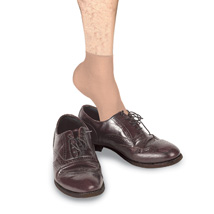 Mens Try-Ons Disposable Shoe Store Socks - Beige