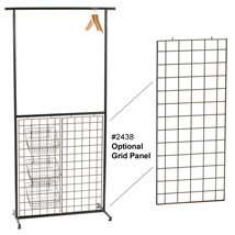 Optional Grid Panel For Rail System