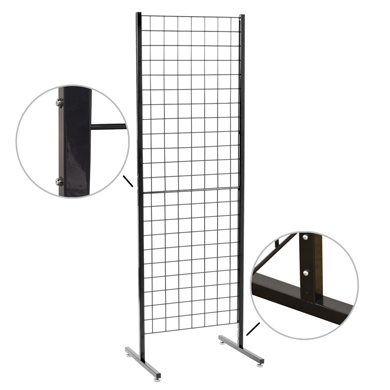 Heavy Duty Grid And Go Portable Display
