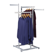 High Capacity Apparel Display