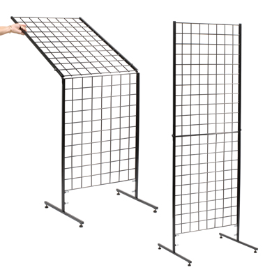 Wire Folding Grid Displays For Craft Shows - WIRE Center •