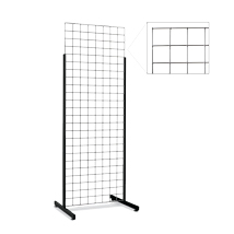 2 Ft X 6 Ft Grid Impulse Display With Heavy Duty T- Legs