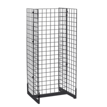 24 In. Wide Grid Gondola With Casters