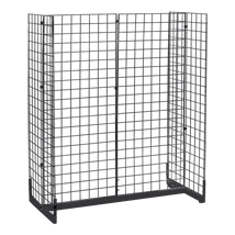 48 In. Wide Grid Gondola With Levelers