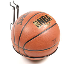 Basketball Or Soccer Ball Slatwall Display - 9 Inch Hoop