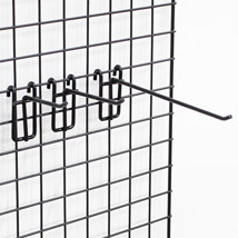 Black Grid Screen Hooks
