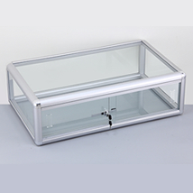 Aluminum Framed Glass Counter Showcase