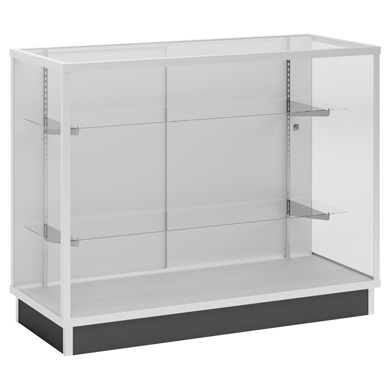 Metal Framed Extra Vision Display Case