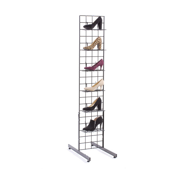 1 Ft. X 5 Ft. Grid Shoe Display