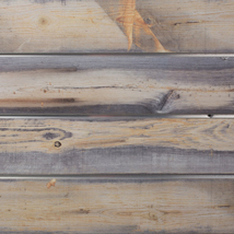 Blue Stained Pine Slatwall Panel - 2' H x 8' W