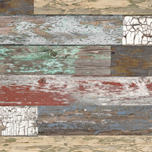 Mixed Color Old Paint Wood Slatwall Panel - 2