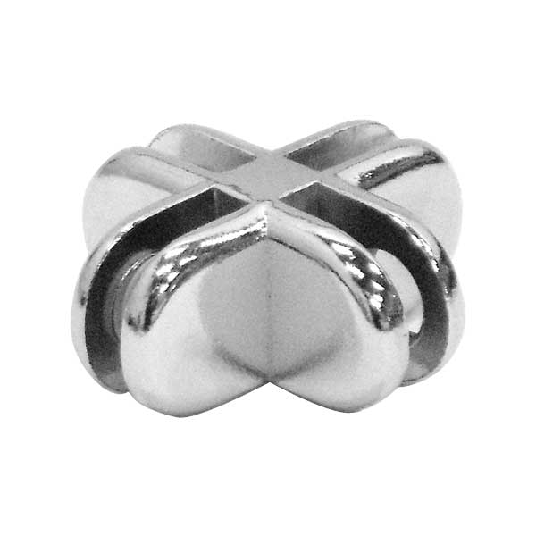 4 Way Chrome Clip