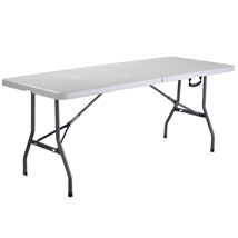 6 Ft Folding Rectangle Portable Table