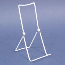 White 9 in. Adjustable Easel