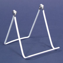 White 5 in. Adjustable Easel