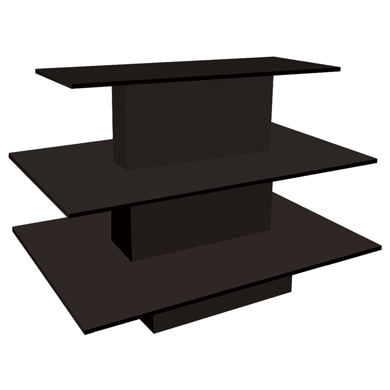 3 Tier Rectangular Display Table