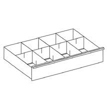 Steel Drawer Dividers